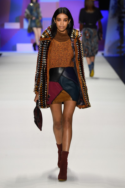 NYFW Desigual Fashion Show Fall:Winter 2016 Louboutins & Love Fashion Blog Esther Santer NYC Street Style Skirt Red Models Collection Hair Beauty Colorful Fun Patterns Inspo Press Event Coverage Photos Details Dress Brown Beautiful Pretty Blue Trends.jpg