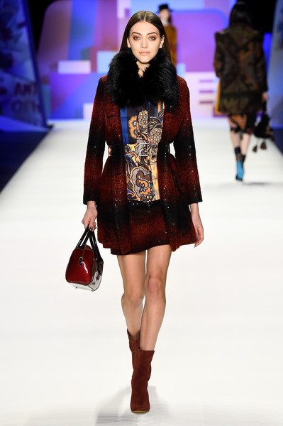 NYFW Desigual Fashion Show Fall:Winter 2016 Louboutins & Love Fashion Blog Esther Santer NYC Street Style Skirt Red Models Collection Hair Beauty Colorful Fun Patterns Inspo Press Event Coverage Photos Details Dress Jacket Beautiful Pretty Blue Trends.jpg
