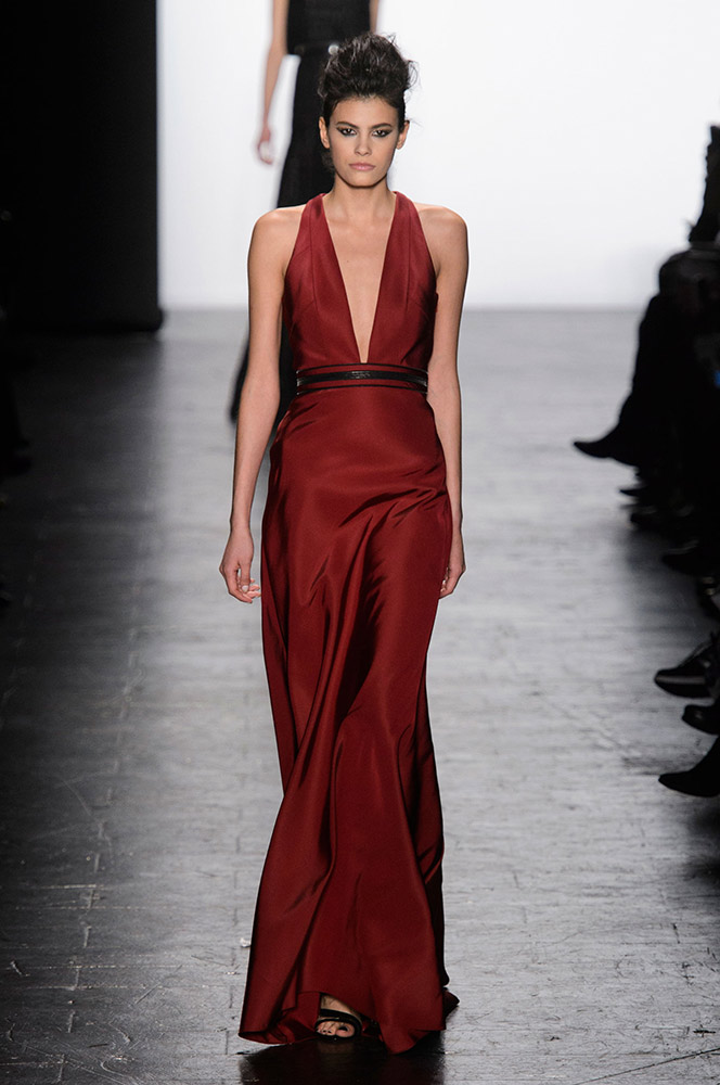 NYFW Carmen Marc Valvo Fashion Show Fall Winter 2016 Louboutins & Love Fashion Blog Esther Santer NYC Street Style Models Collection Hair Trends Pretty Inspo Press Event Coverage Details Photos Gown Dress Beautiful Evening Wear Outfit Shoes Red Fur.jpg