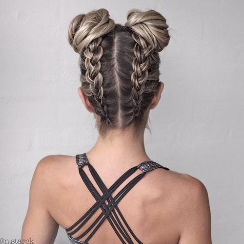 Best Braids Louboutins & Love Fashion Blog Esther Santer Street Style Chic Updo Cute Fashion Hair Grey Blonde Brunette Black Pink Dutch.jpg