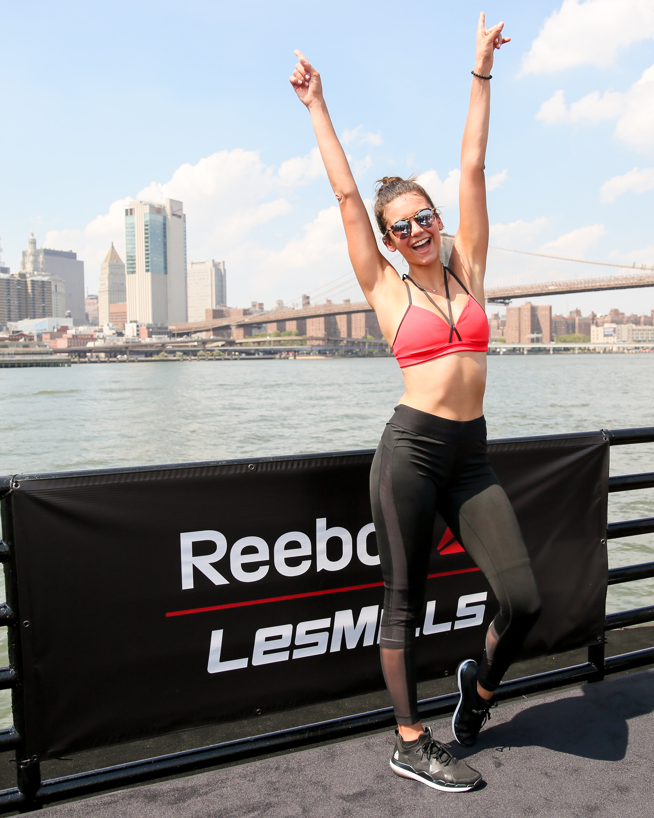 All About My Day With Reebok and Nina Dobrev Esther Santer Fashion Blog NYC Street Style Blogger Outfit OOTD Trendy Workout Gear Moving Barge Trainers Celebrity Ambassador Brunch The Vampire Diaries Celeb GRIT Girl Squad  Women Weights Bodyflow Body.jpg