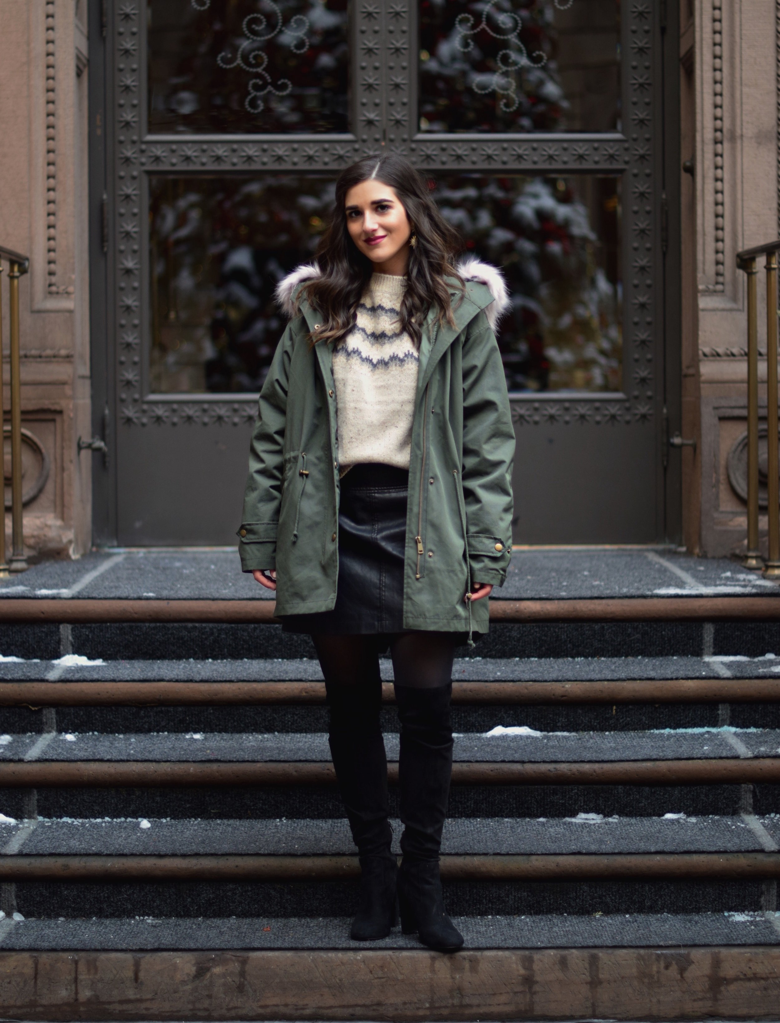 The Perfect Parka 10 Coats To Gift This Season Esther Santer Fashion Blog NYC Street Style Blogger Outfit OOTD Trendy Urban Outfitters Jacket Coat Girl Women Fur Hood Winter Black OTK Boots Cashmere Sweater Cold Weather Shoes Shopping Holiday Presents.jpg