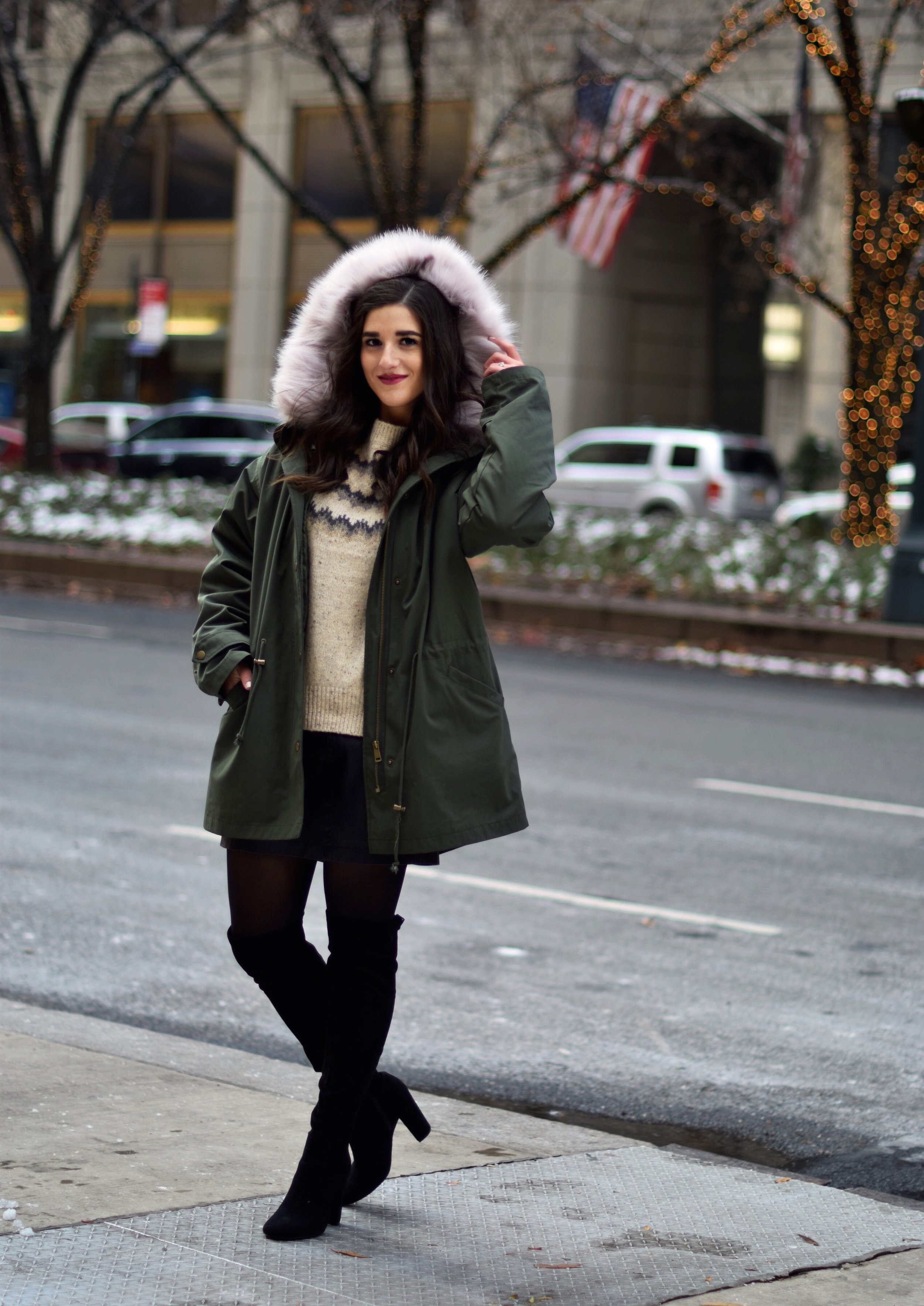 The Perfect Parka 10 Coats To Gift This Season Esther Santer Fashion Blog NYC Street Style Blogger Outfit OOTD Trendy Urban Outfitters Jacket Coat Girl Women Fur Hood Winter Black OTK Boots Cashmere Sweater Shoes Cold Weather Shopping Holiday Presents.jpg