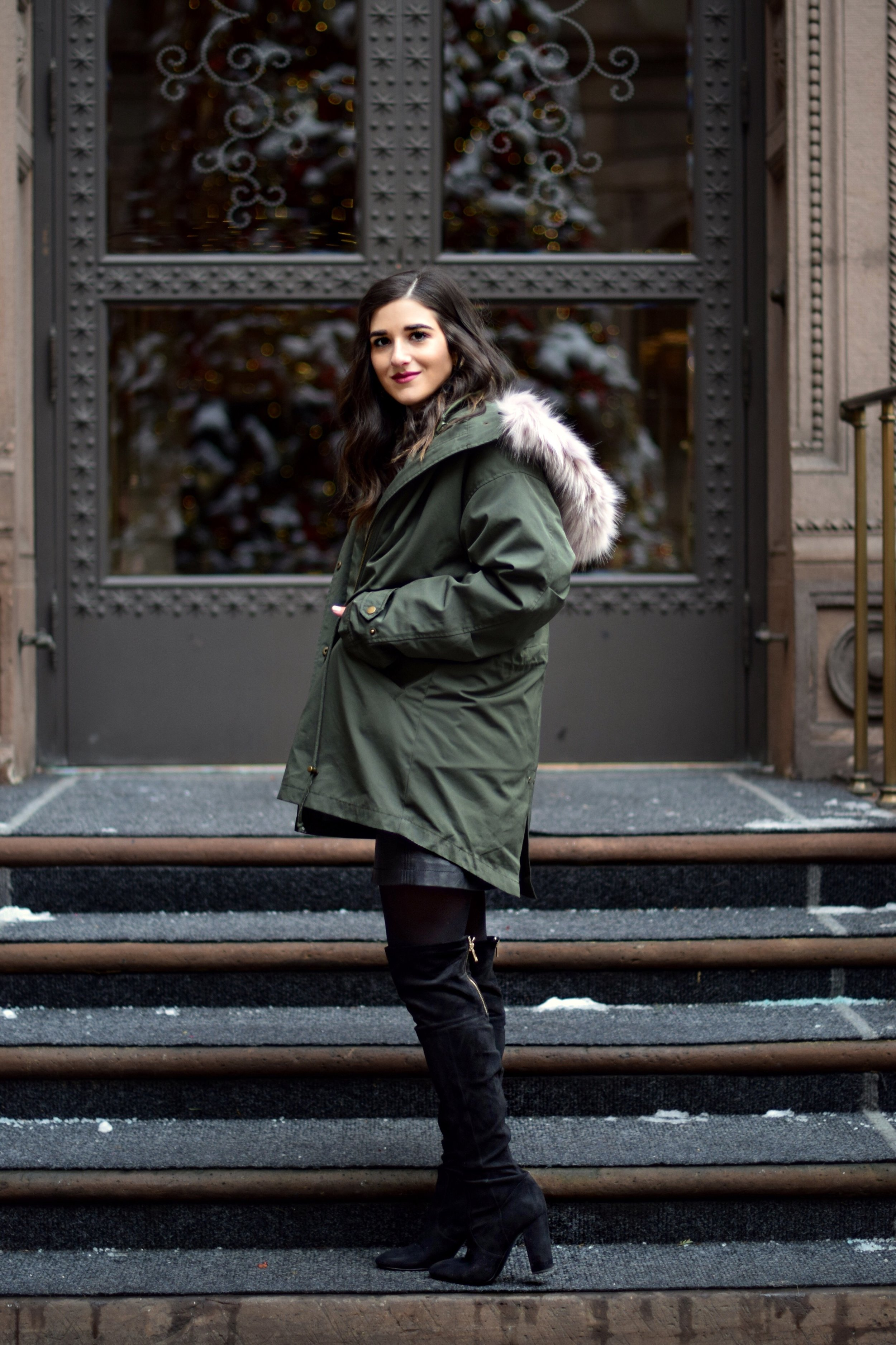 The Perfect Parka 10 Coats To Gift This Season Esther Santer Fashion Blog NYC Street Style Blogger Outfit OOTD Trendy Urban Outfitters Jacket Coat Girl Women Fur Hood Winter Black OTK Boots Cashmere Sweater Shoes Shopping Cold Weather Holiday Presents.jpg
