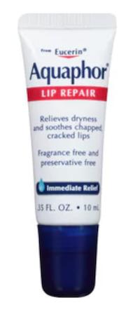 Lip Balm: Aquaphor Lip Repair