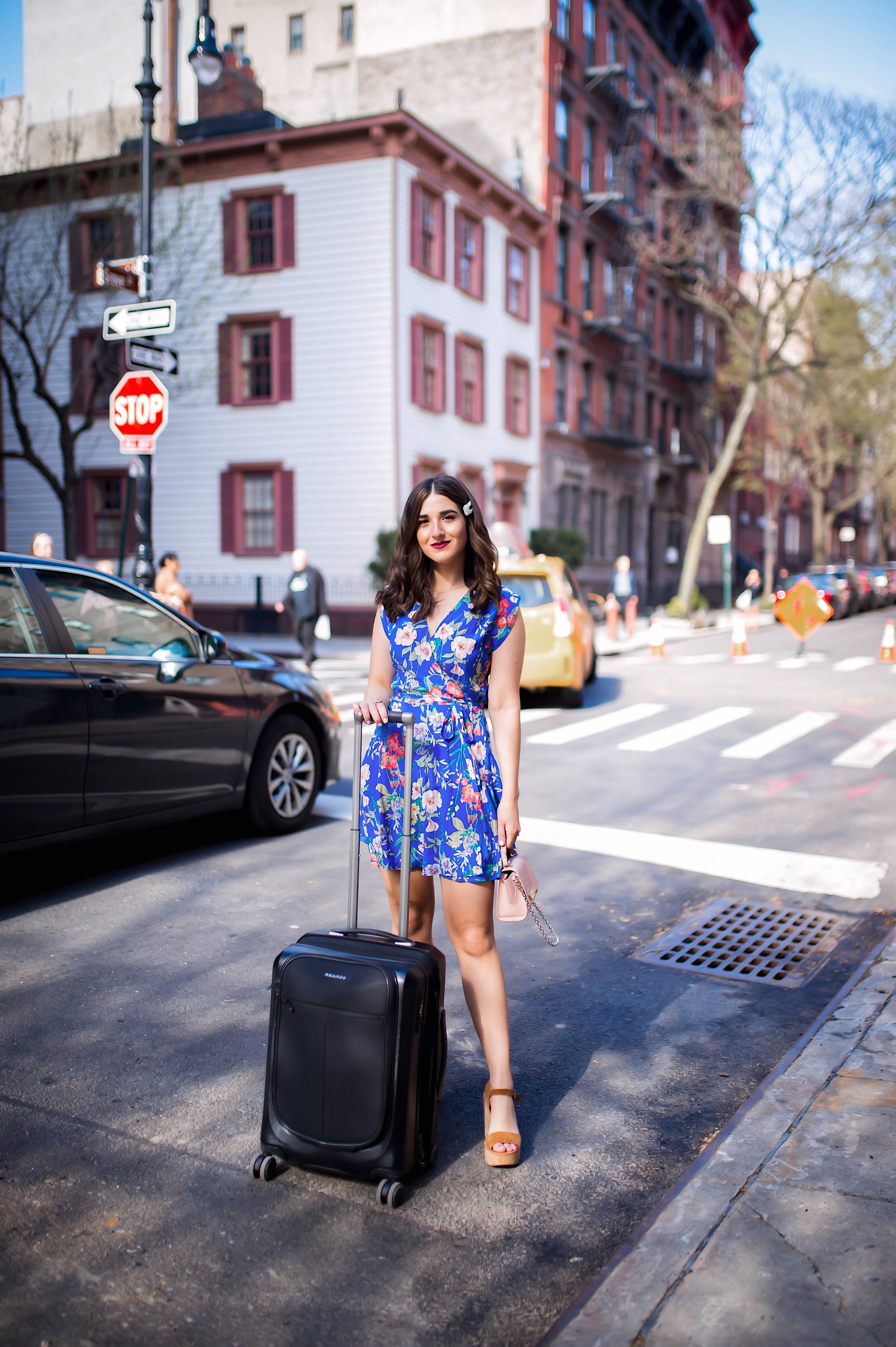 How Ricardo Luggage Keeps Me Organized The Cupertino Collection Esther Santer Fashion Blog NYC Street Style Blogger Outfit OOTD Trendy Shopping Girl Travel Honeymoon Trip Vacation Europe Pack Packing Best Black Front Pocket Hard Case Carry On Suitcase.JPG