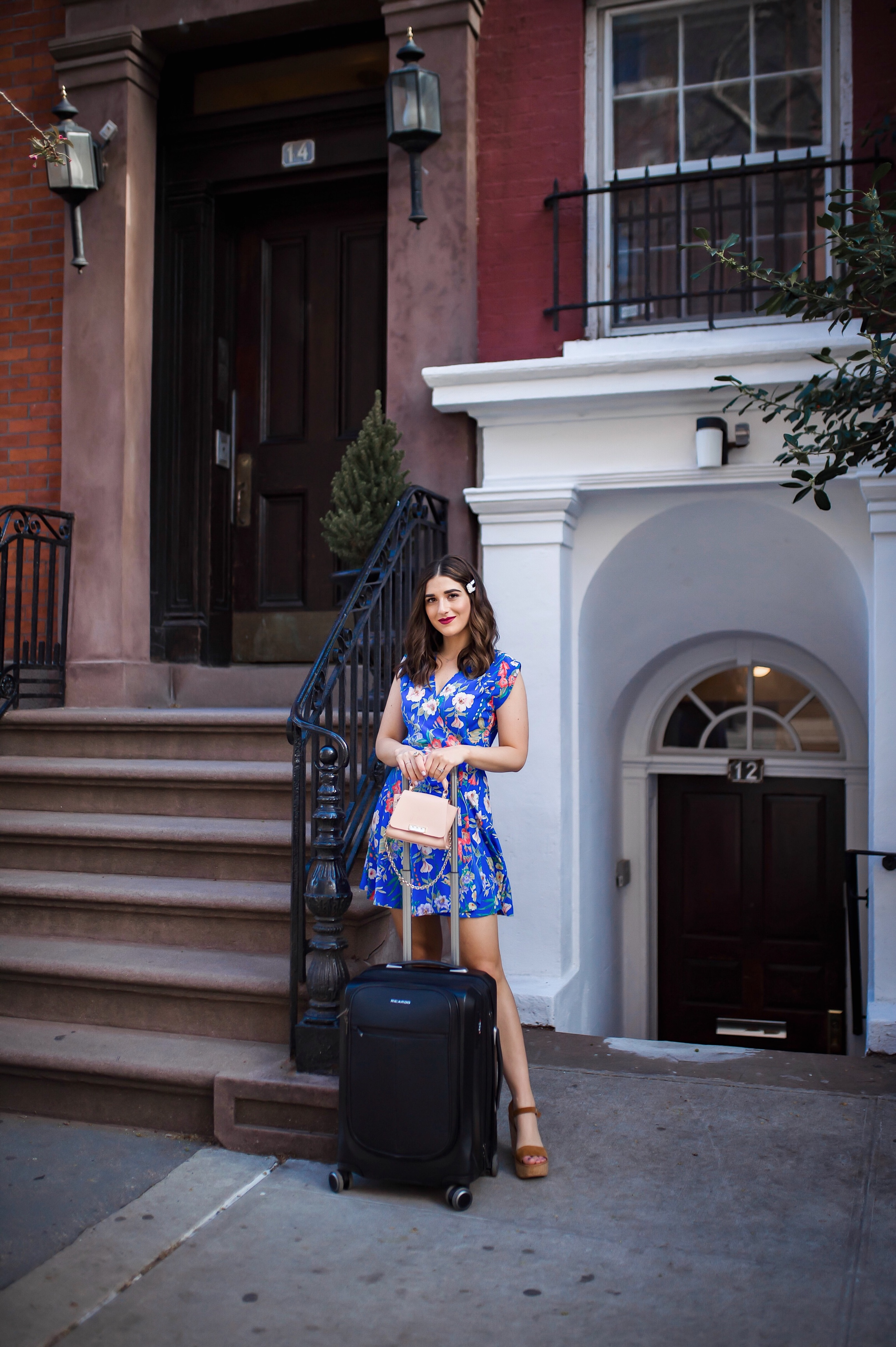 How Ricardo Luggage Keeps Me Organized The Cupertino Collection Esther Santer Fashion Blog NYC Street Style Blogger Outfit OOTD Trendy Shopping Girl Travel Honeymoon Trip Vacation Europe Pack Packing Best Suitcase Front Pocket Hard Case Carry On Black.JPG