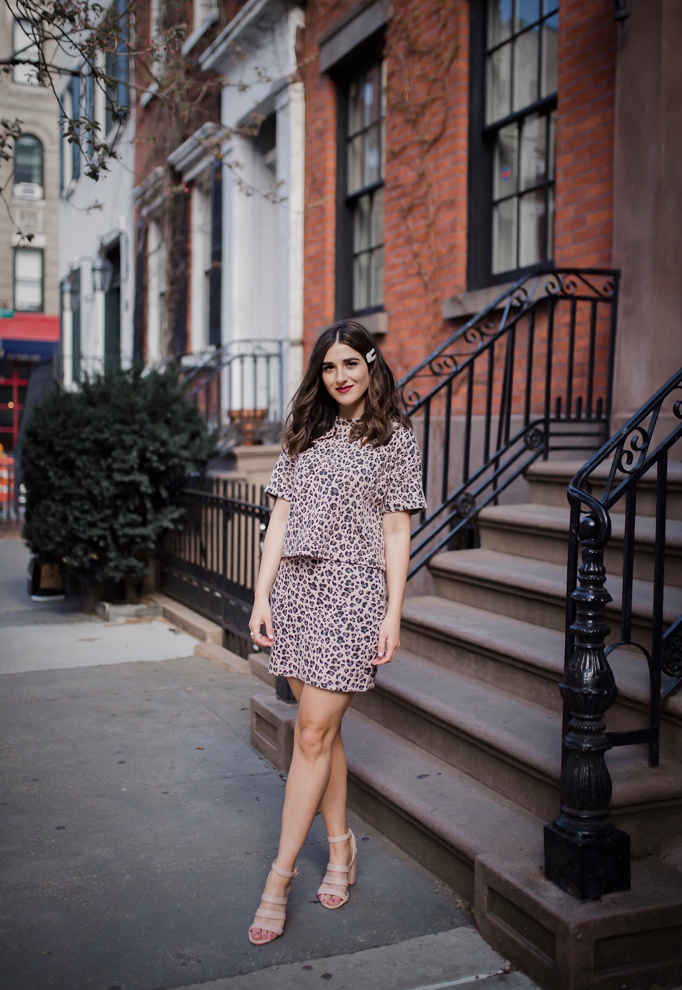 Why People Should Stop Hating On Bloggers Pink Leopard Set Esther Santer Fashion Blog NYC Street Style Blogger Outfit OOTD Clip Trendy Shopping Girl Wear Logical Approach Charity Work Stay At Home Mom Powerful Impact Positivity Mental Health Awareness.JPG