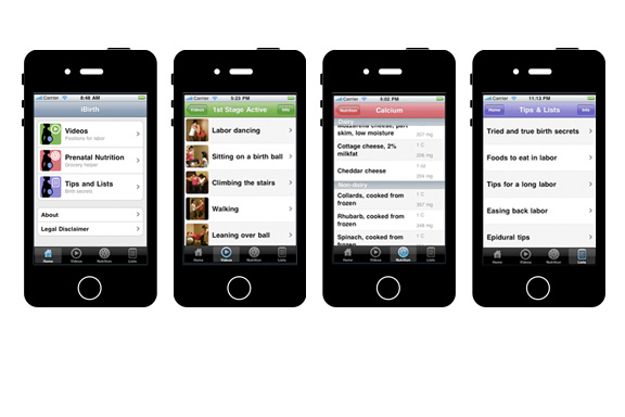 IBIRTH APP |  UX & VISUAL DESIGN  VIEW COMPANY SITE >