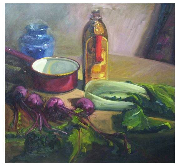 Still Life with Beets