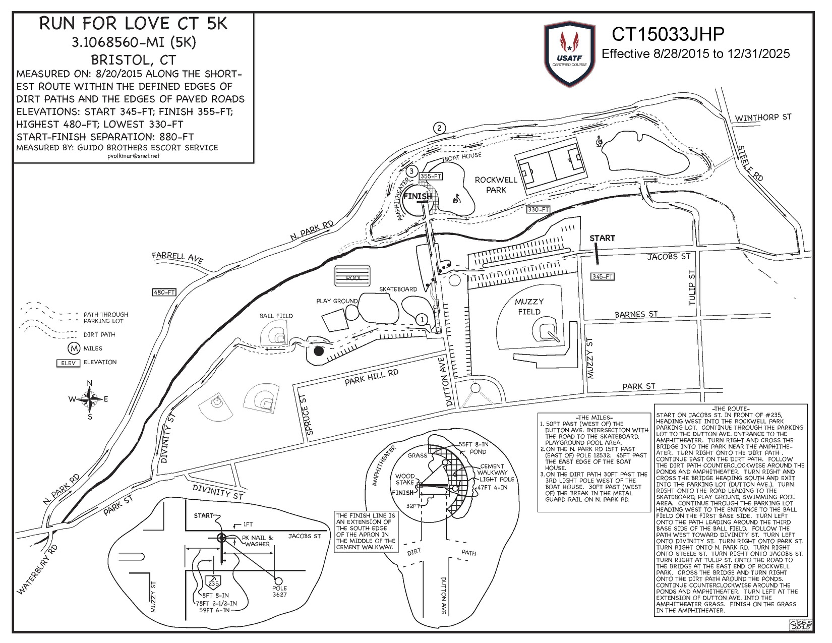 This is the Certified official race map. If you have any questions regarding the course please feel free to contact us via events@hillsidebristol.org.