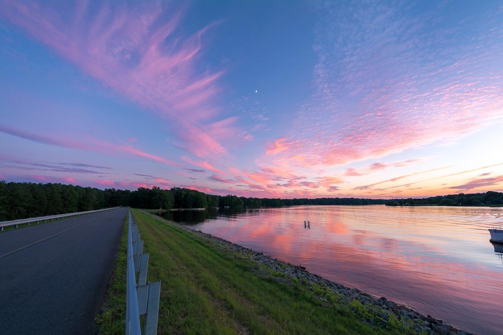 Lake Caroline Sunset