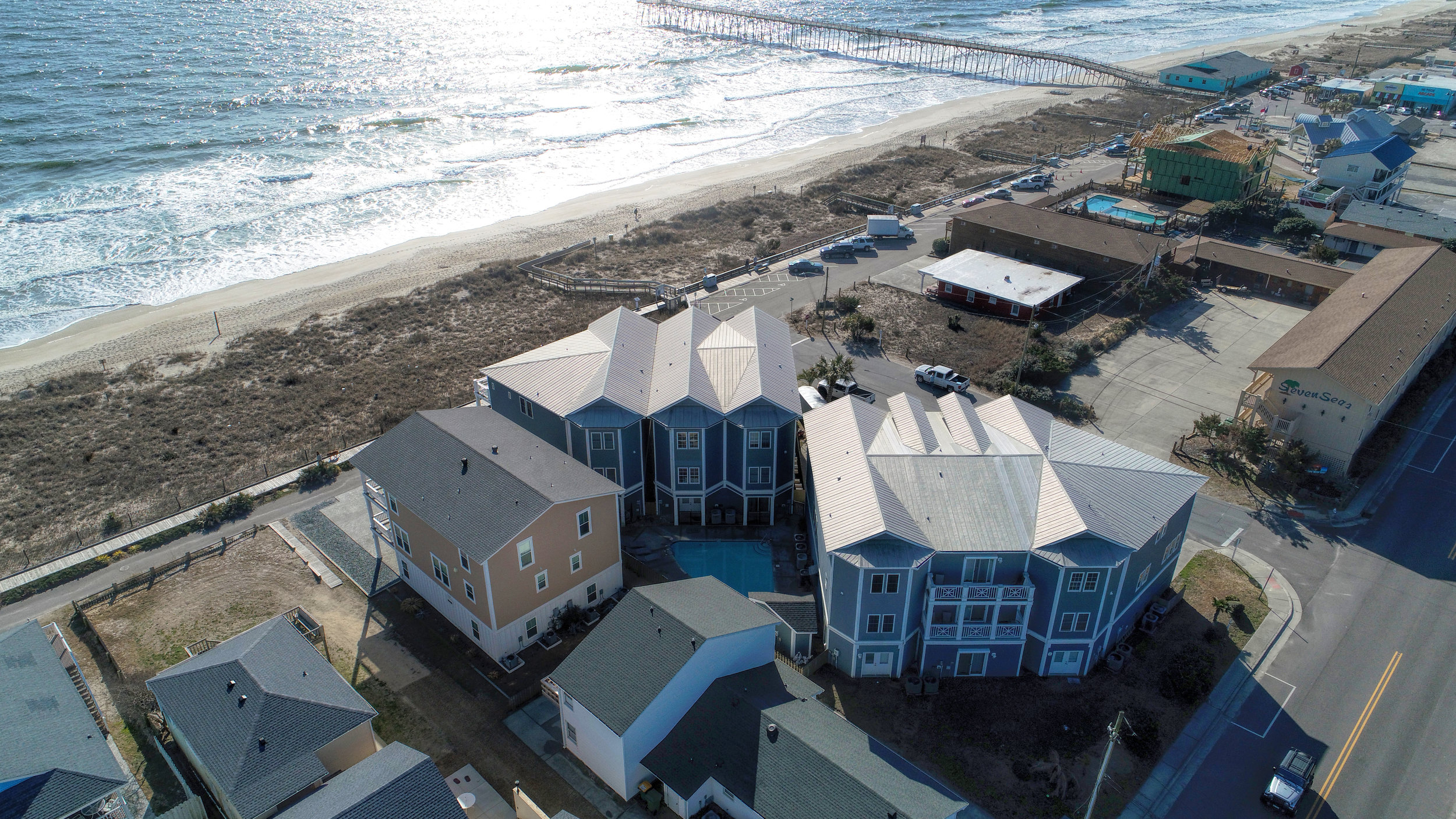 202 N Fort Fisher Blvd Unit 8-print-041-49-Kure Beach Villas drone view-4200x2363-300dpi.jpg