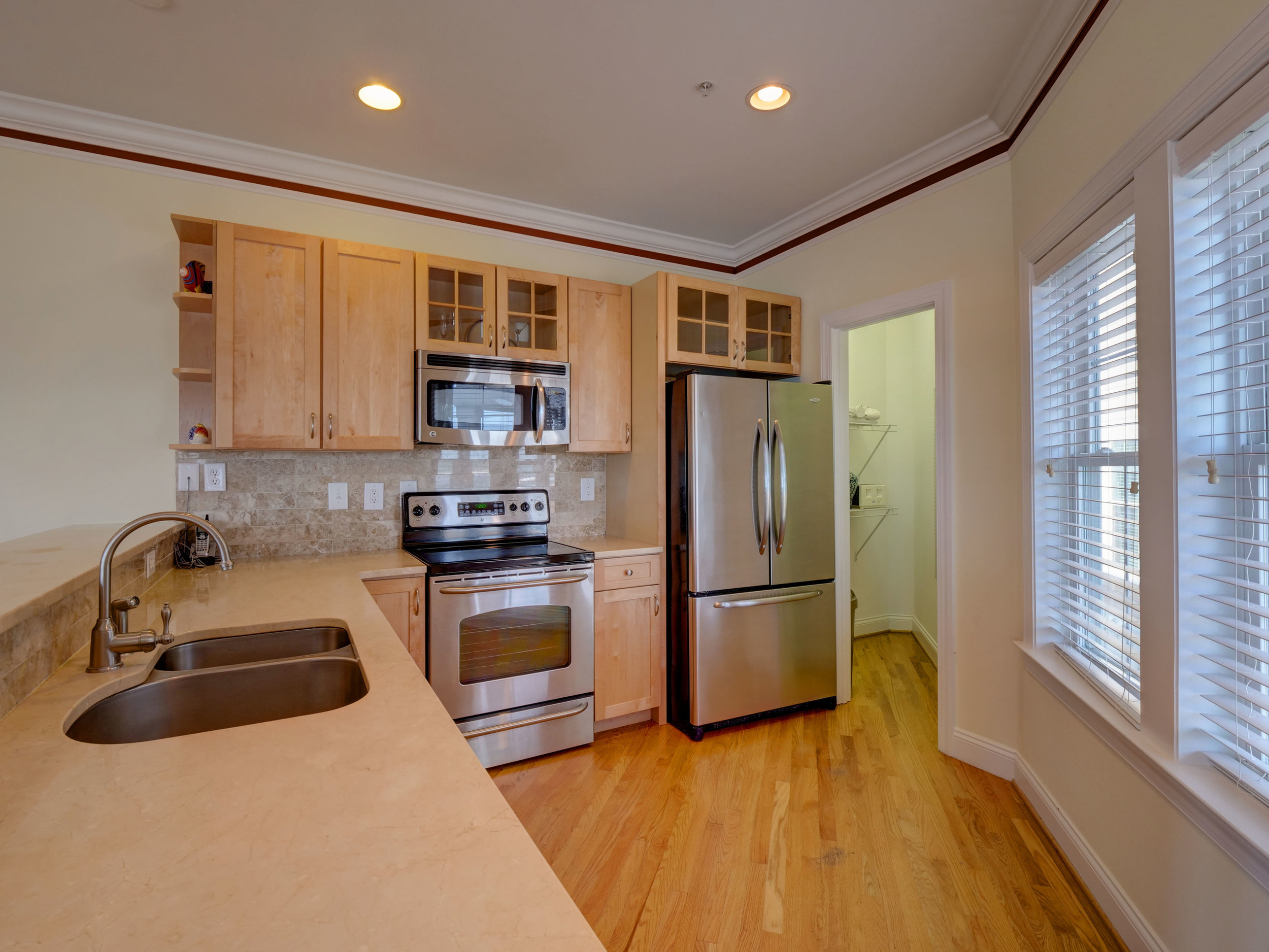 202 N Fort Fisher Blvd Unit 8-print-013-60-Kitchen view 1-3673x2756-300dpi.jpg