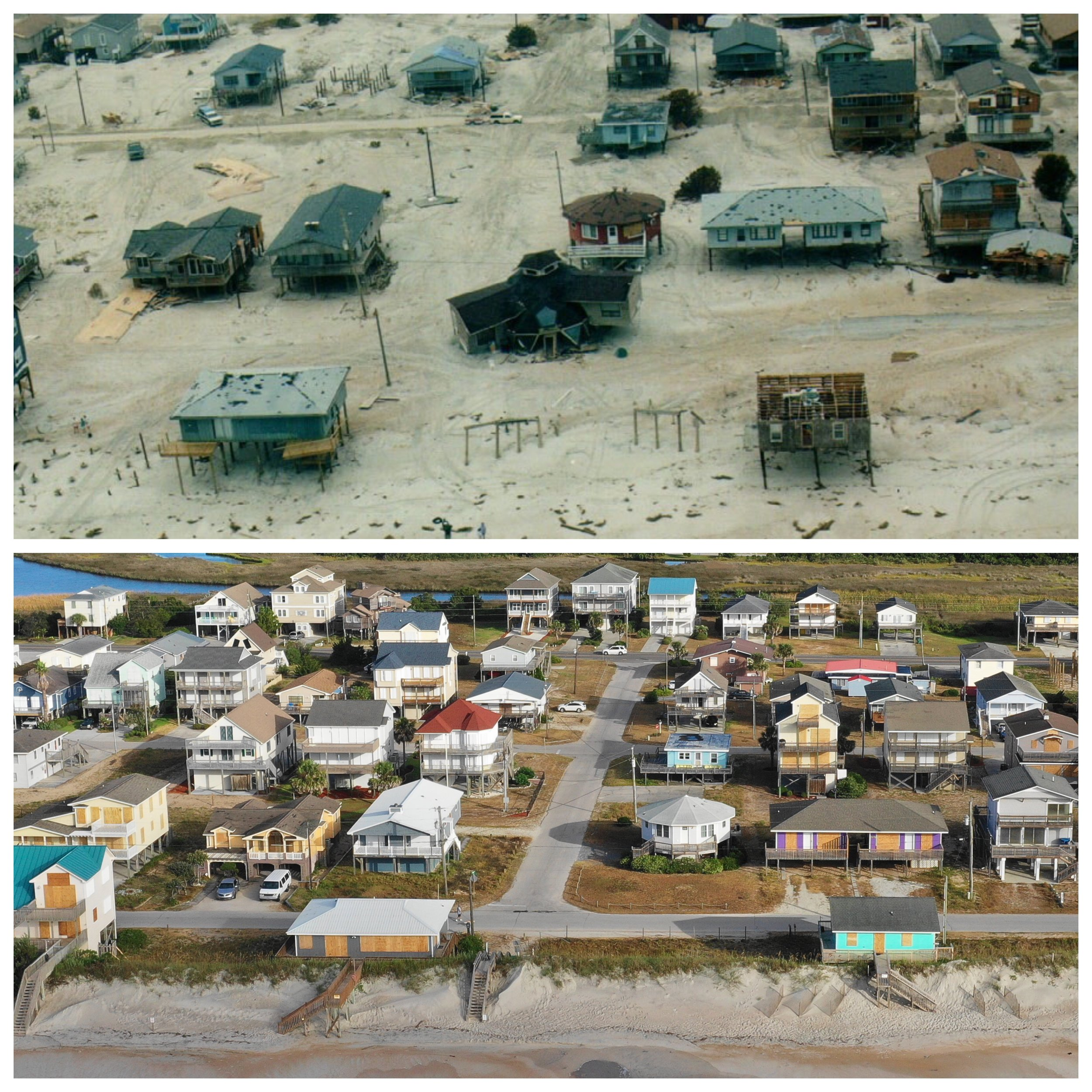 Hurricane Fran (1996)/Hurricane Florence - 1300 North Shore Dr, Surf City, NC