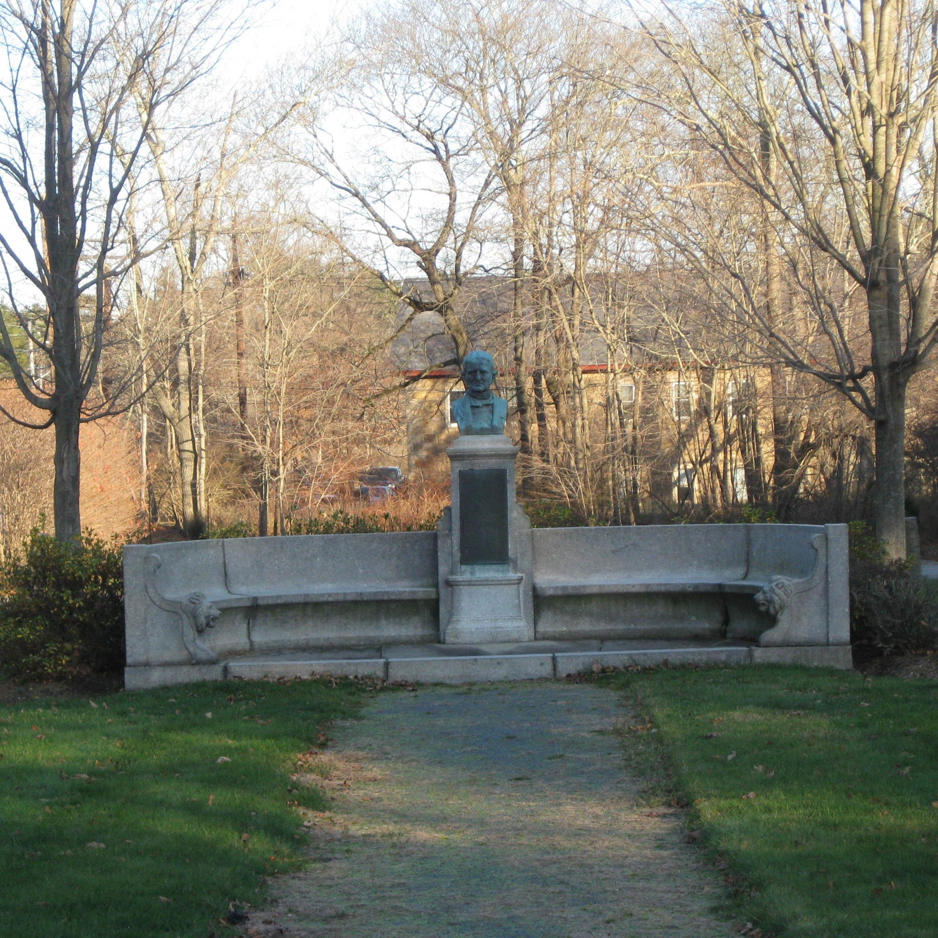 Oliver Ames Memorial - Before