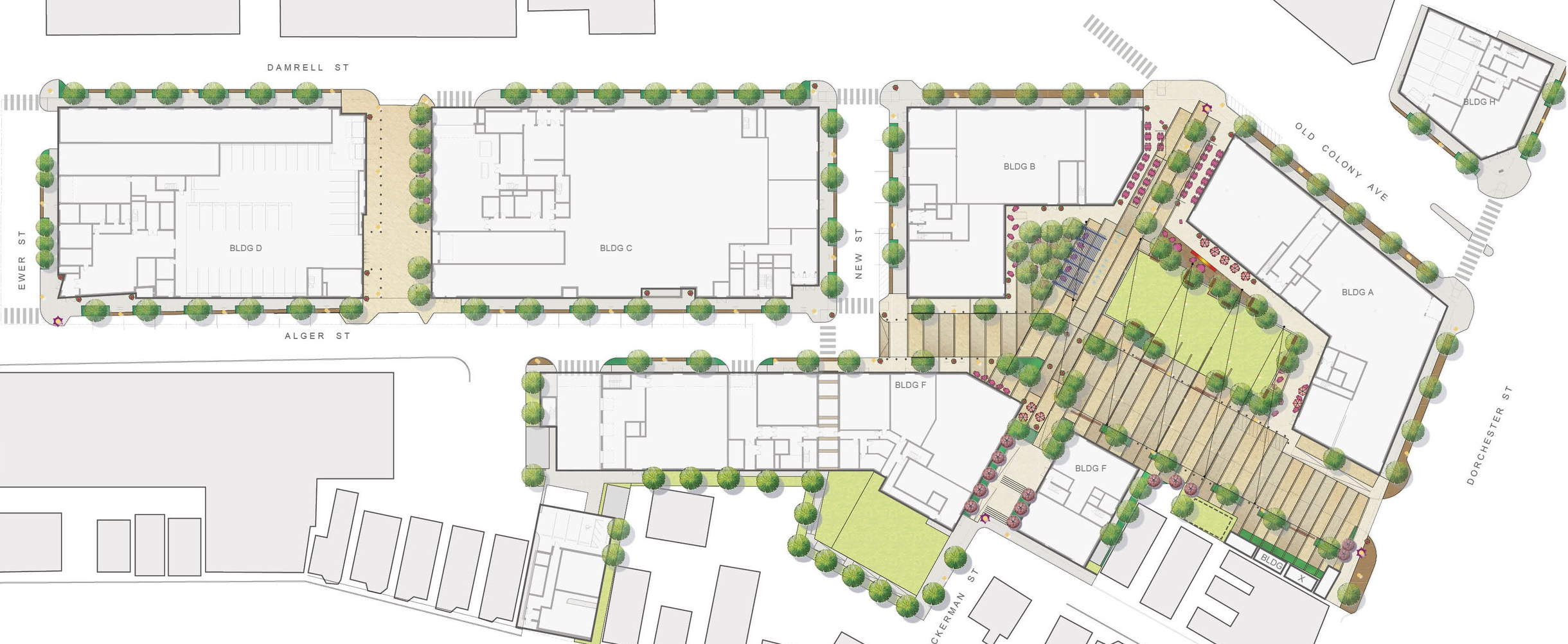 Washington Village Site Plan (Halvorson Design)