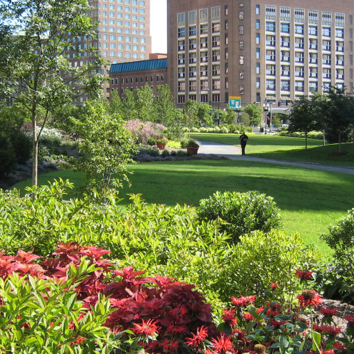 FORT POINT CHANNEL PARKS AT ROSE KENNEDY GREENWAY