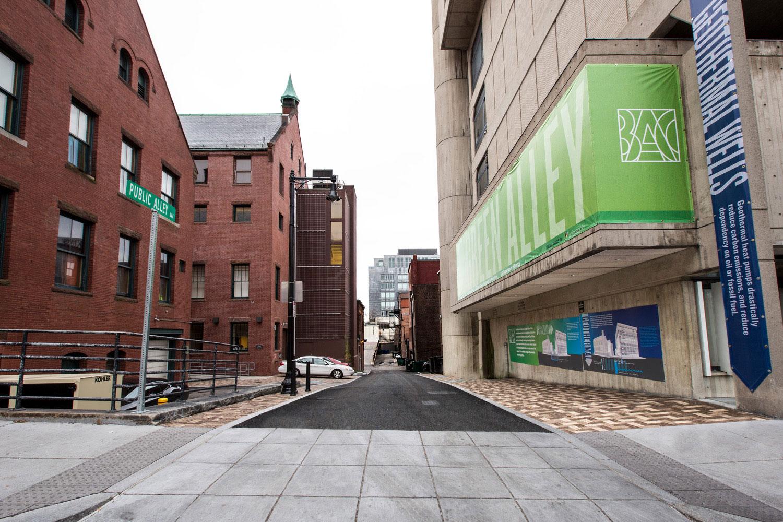 BOSTON ARCHITECTURAL COLLEGE GREEN ALLEY