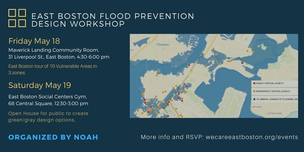East Boston Flood Prevention Design Workshop (ULI Boston/New England and NOAH)