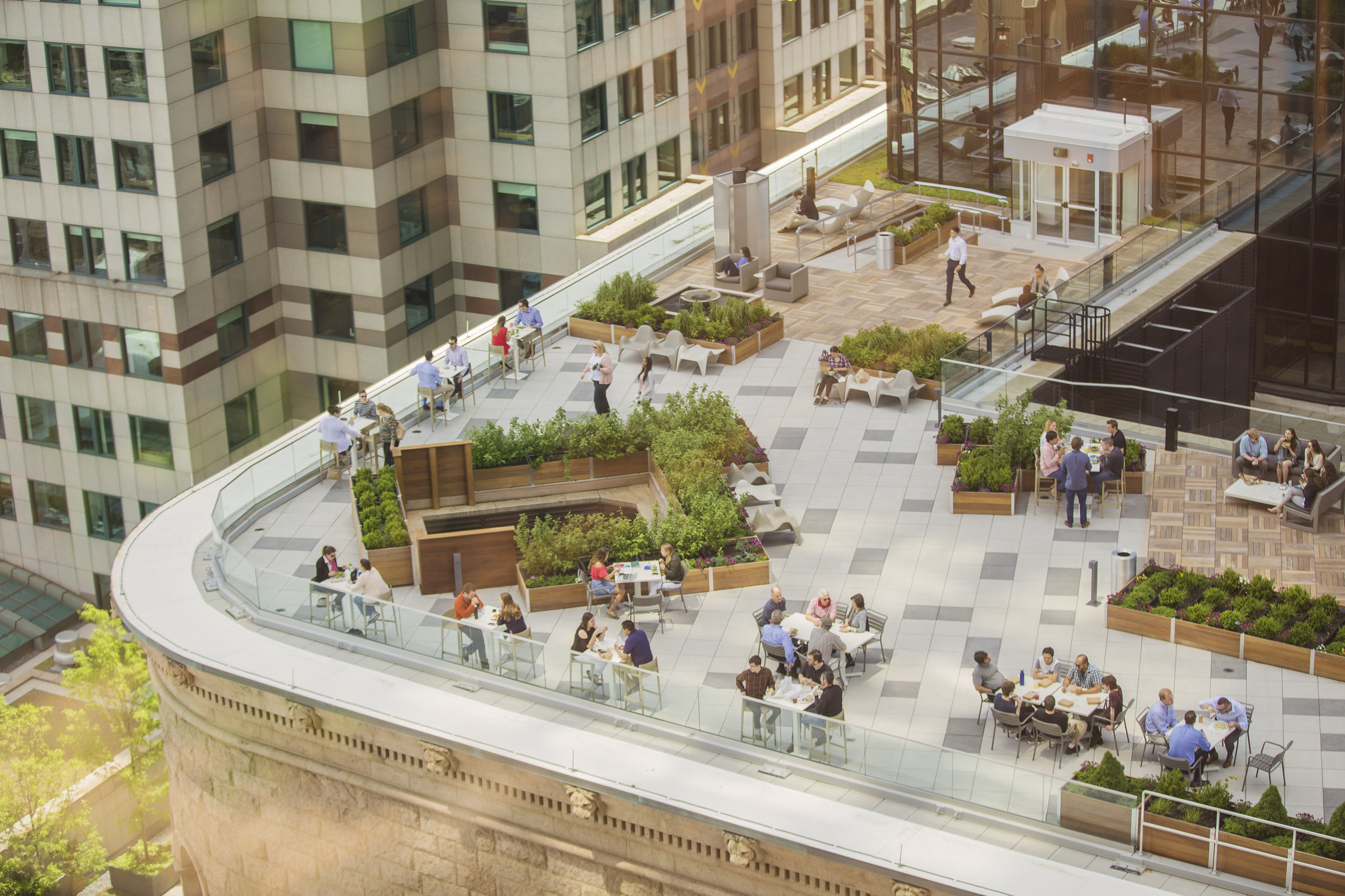53 State Street Roof Deck (Photo by Ngoc Doan)