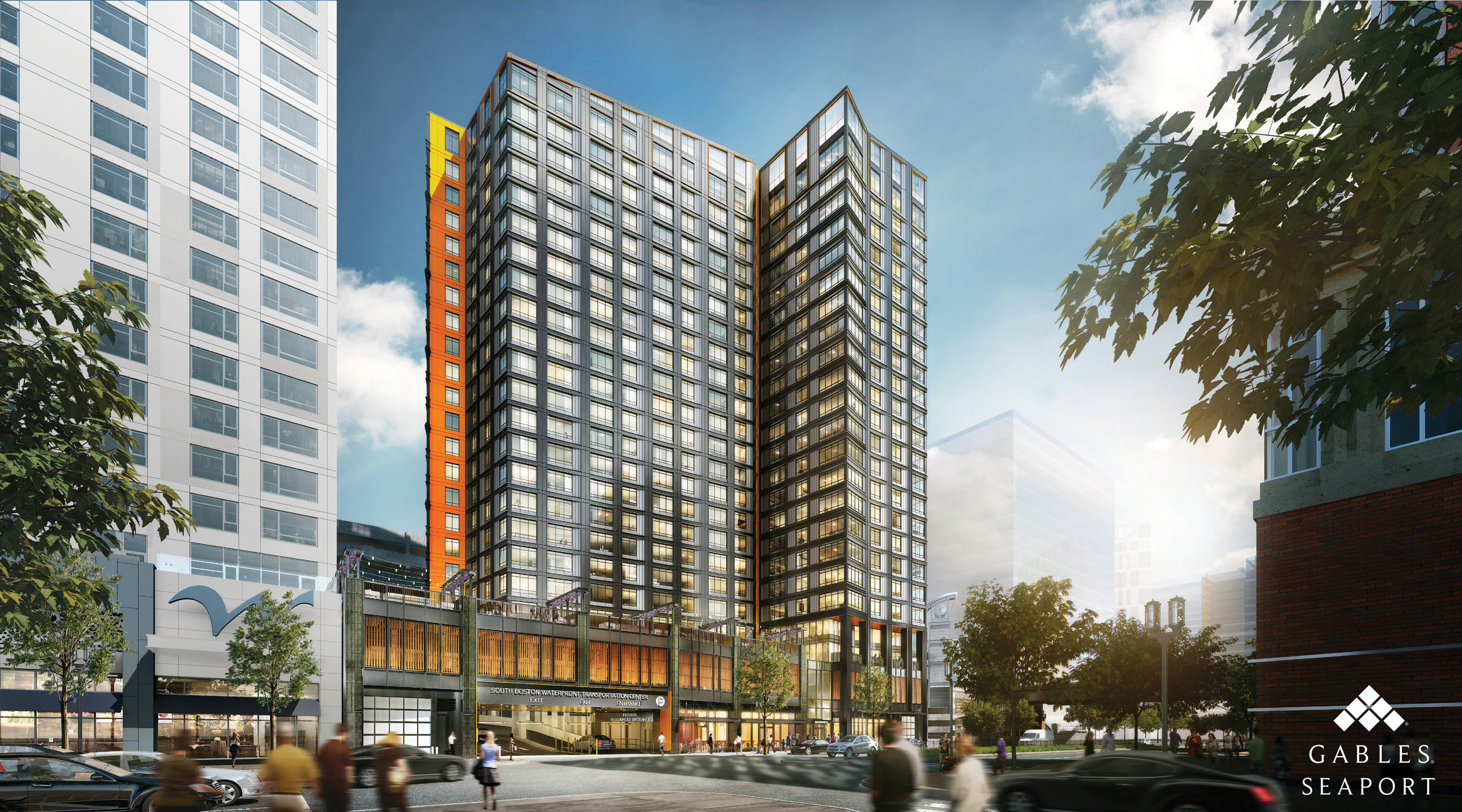 Gable Seaport (Rendering by CBT Architects)