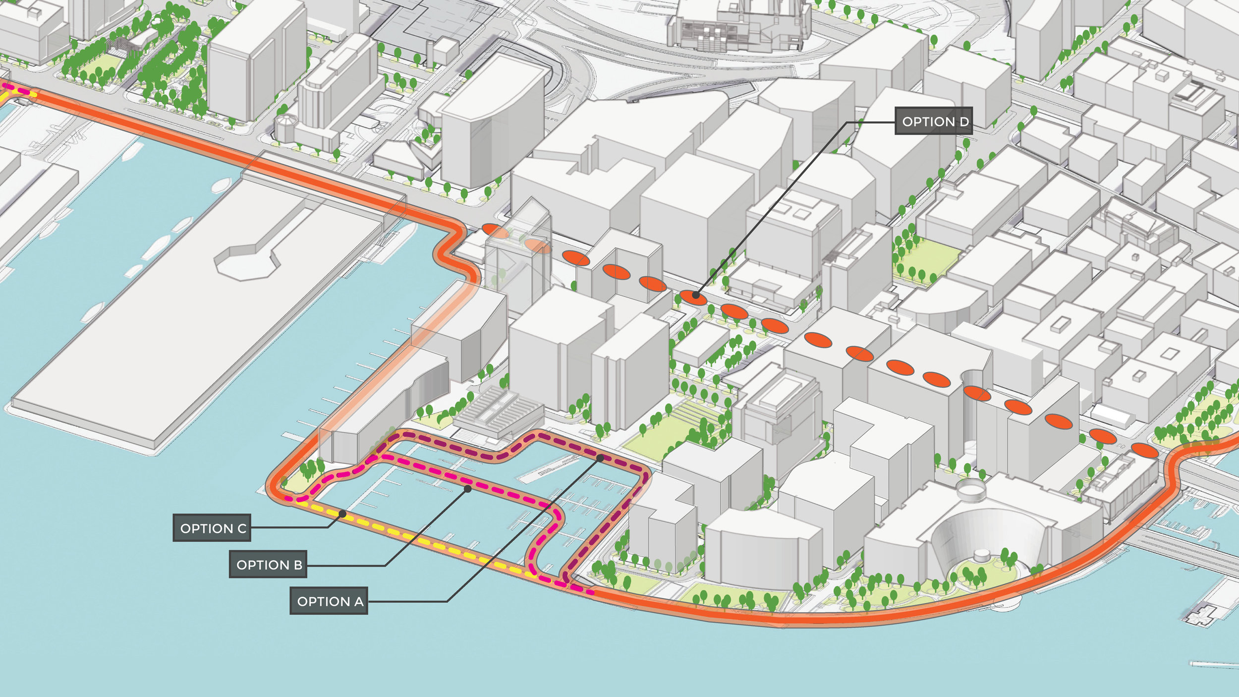 Climate Ready South Boston Fan Pier Design Prototypes (Halvorson Design)