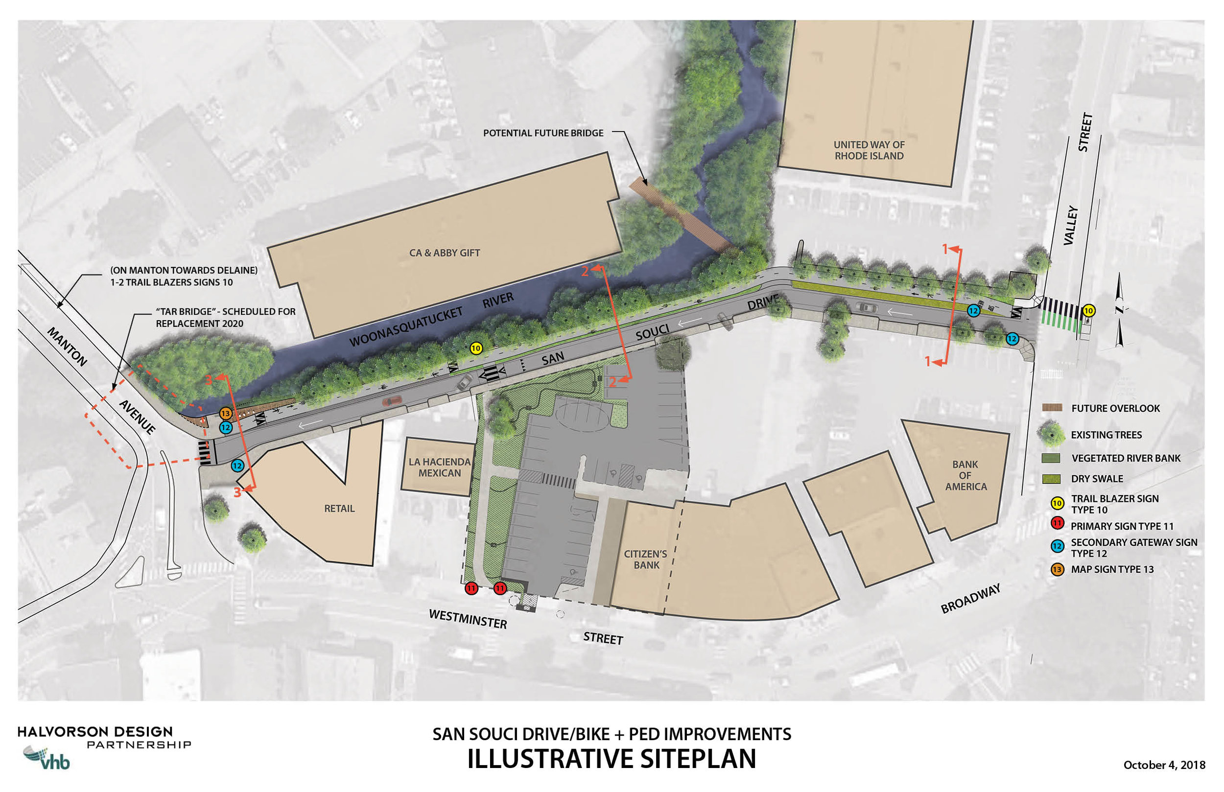 San Souci Drive Site Plan in Providence