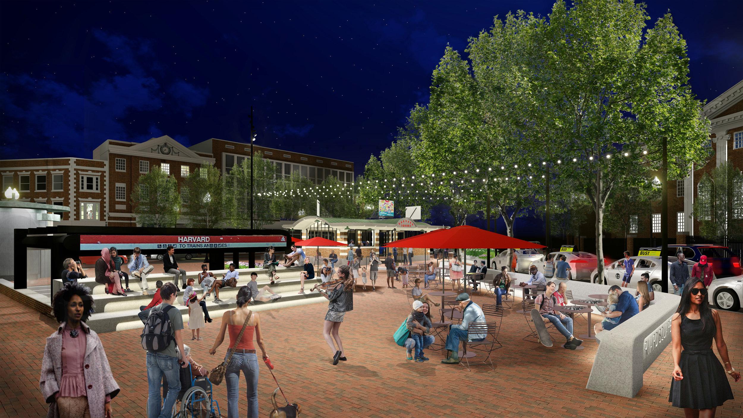 Reimagining the Heart of Harvard Square