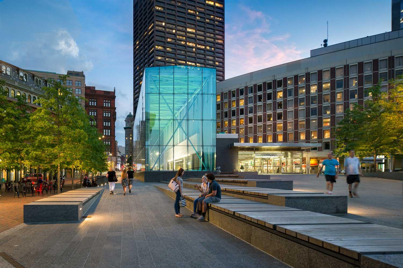 MBTA Government Center Plaza