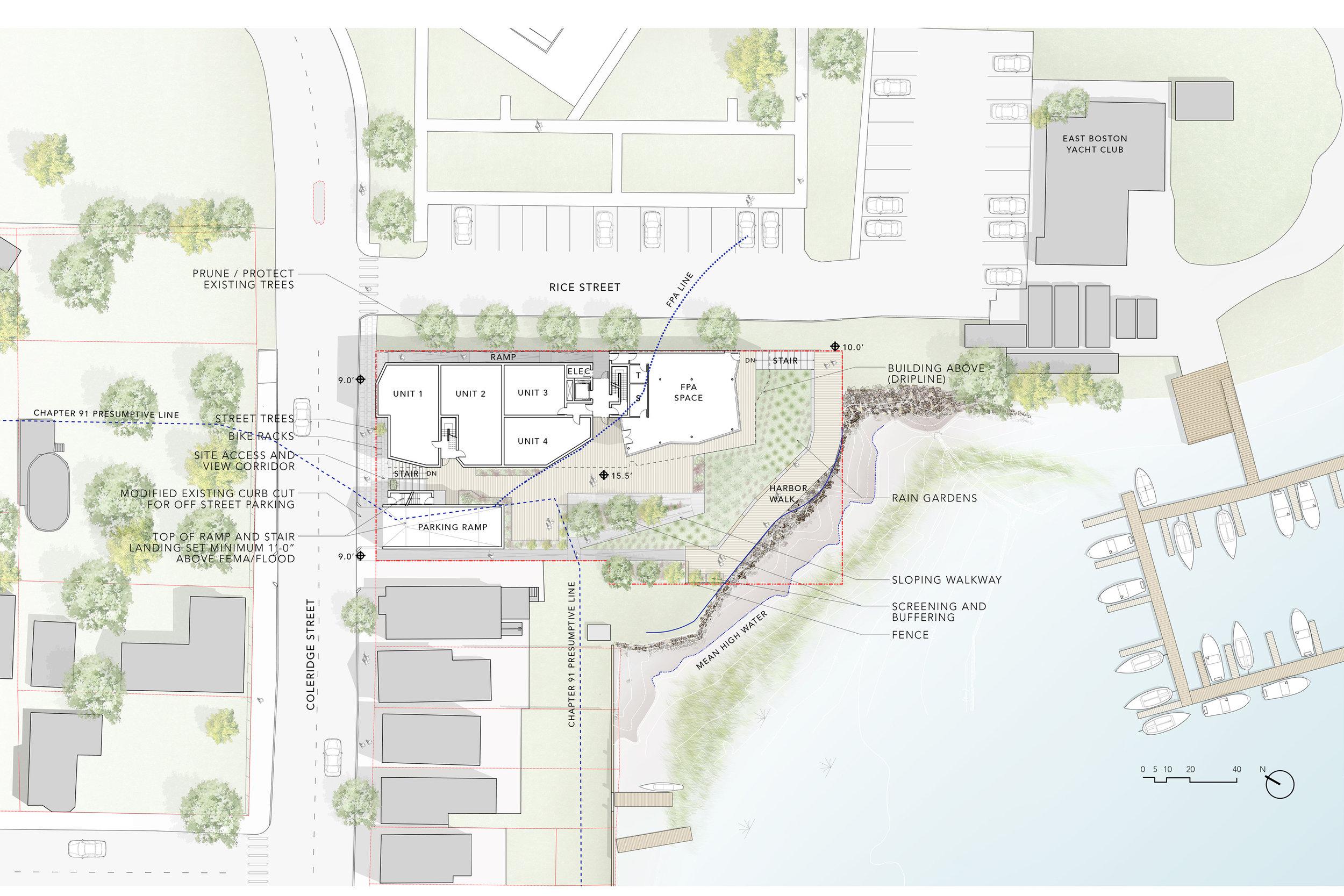 Site Plan by Touloukian Touloukian, Inc.