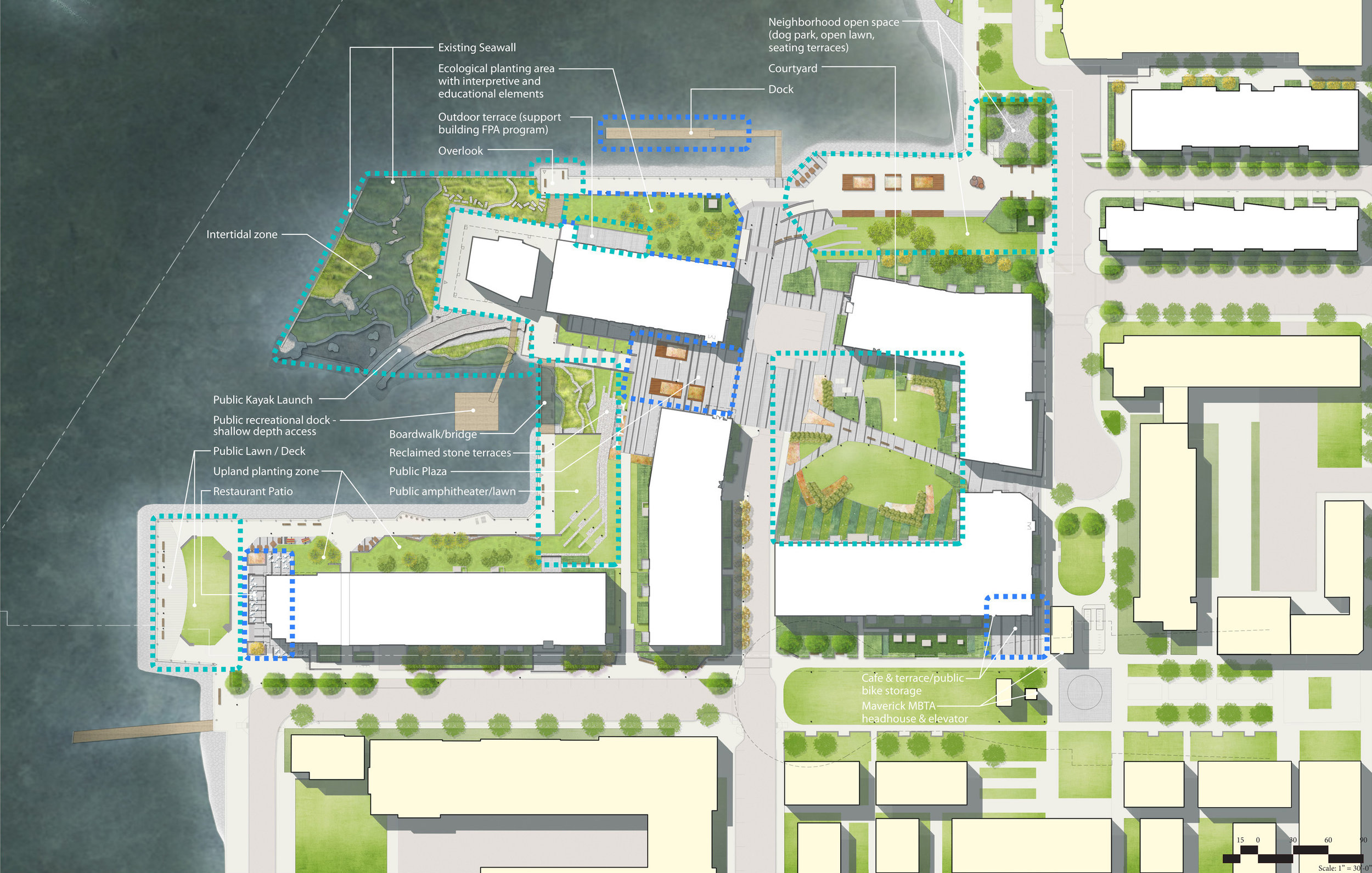 Clippership Wharf Site Plan