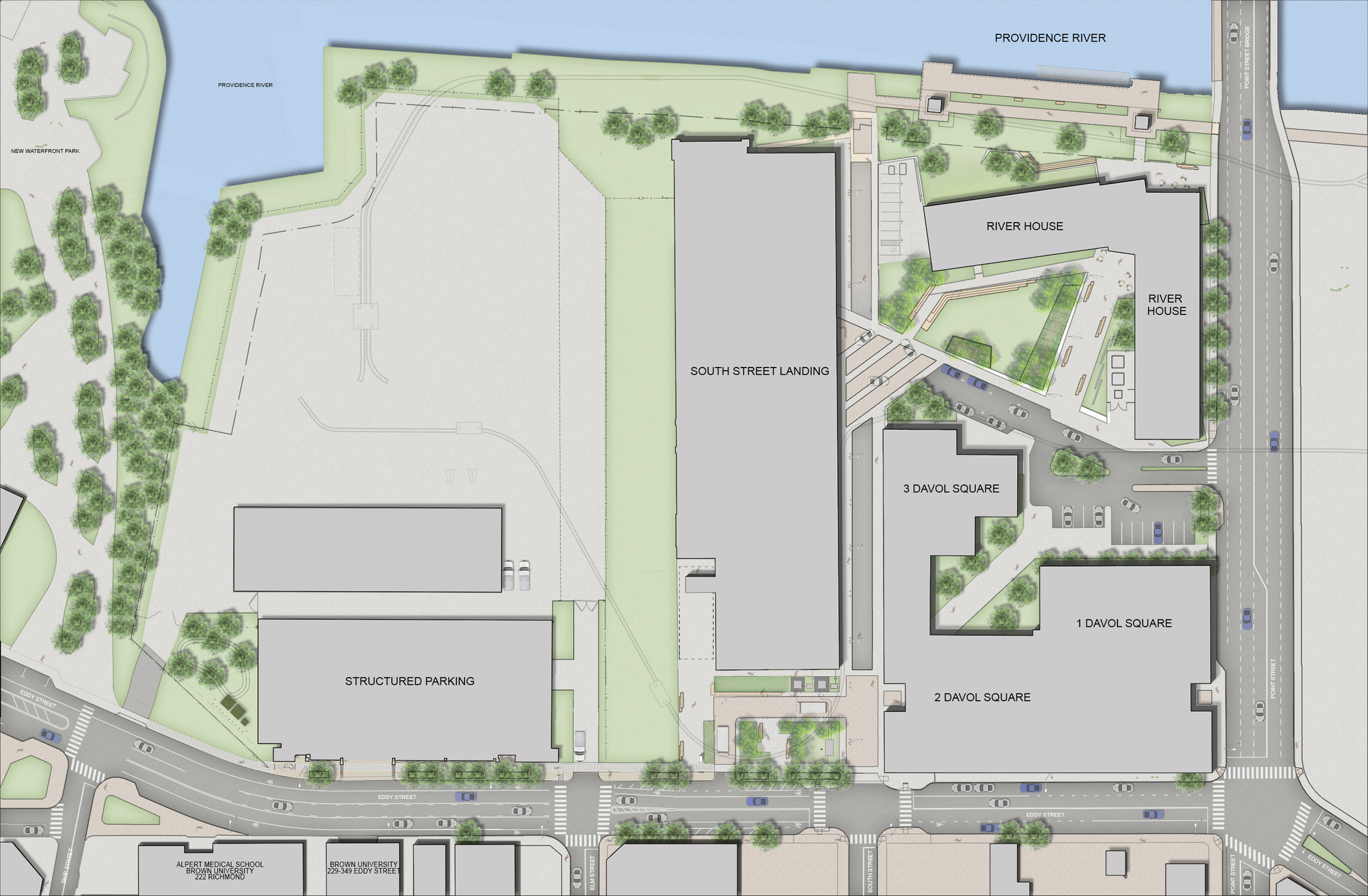 South Street Landing Site Plan