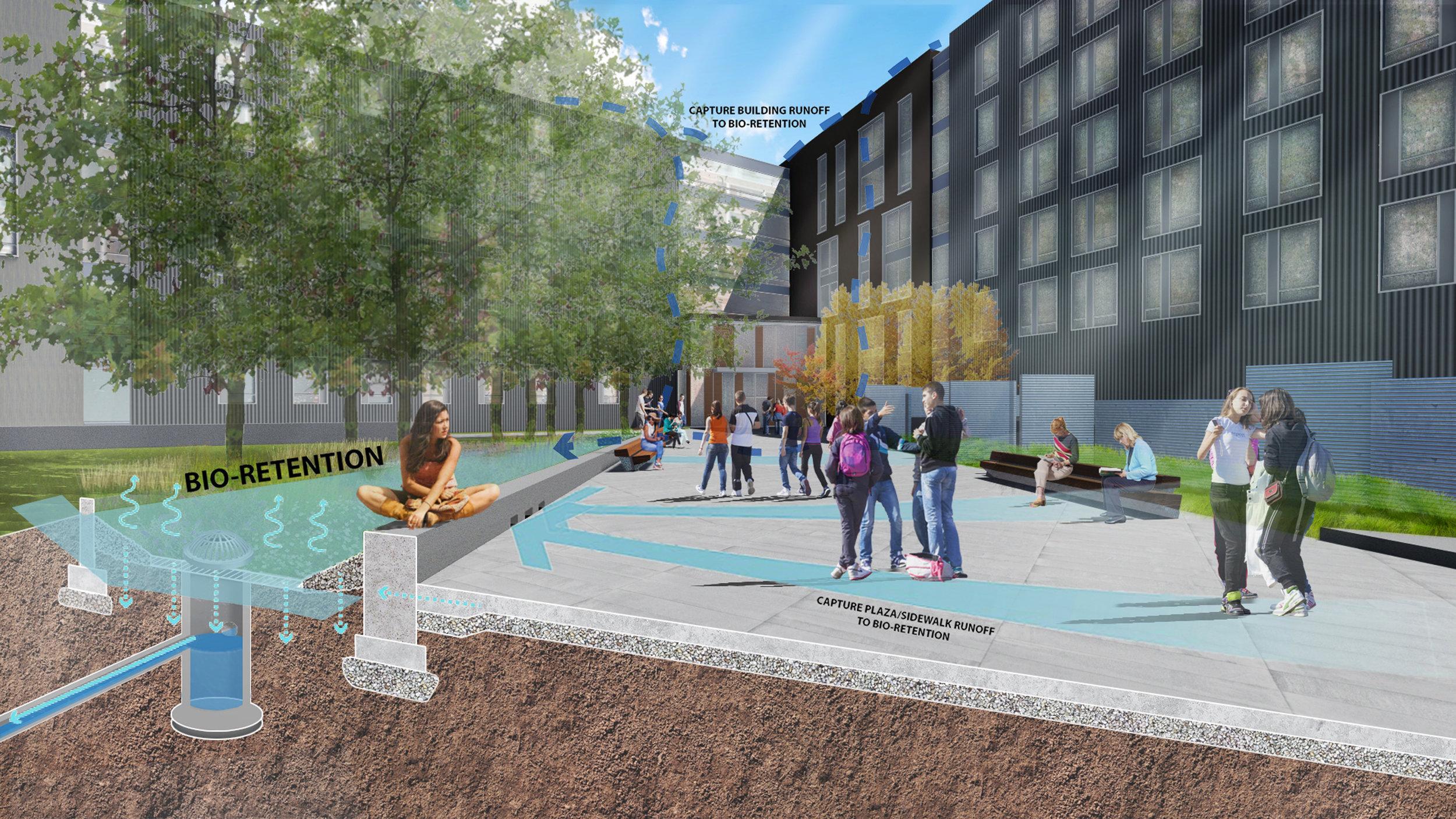 South Street Landing Perspective (Halvorson Design)