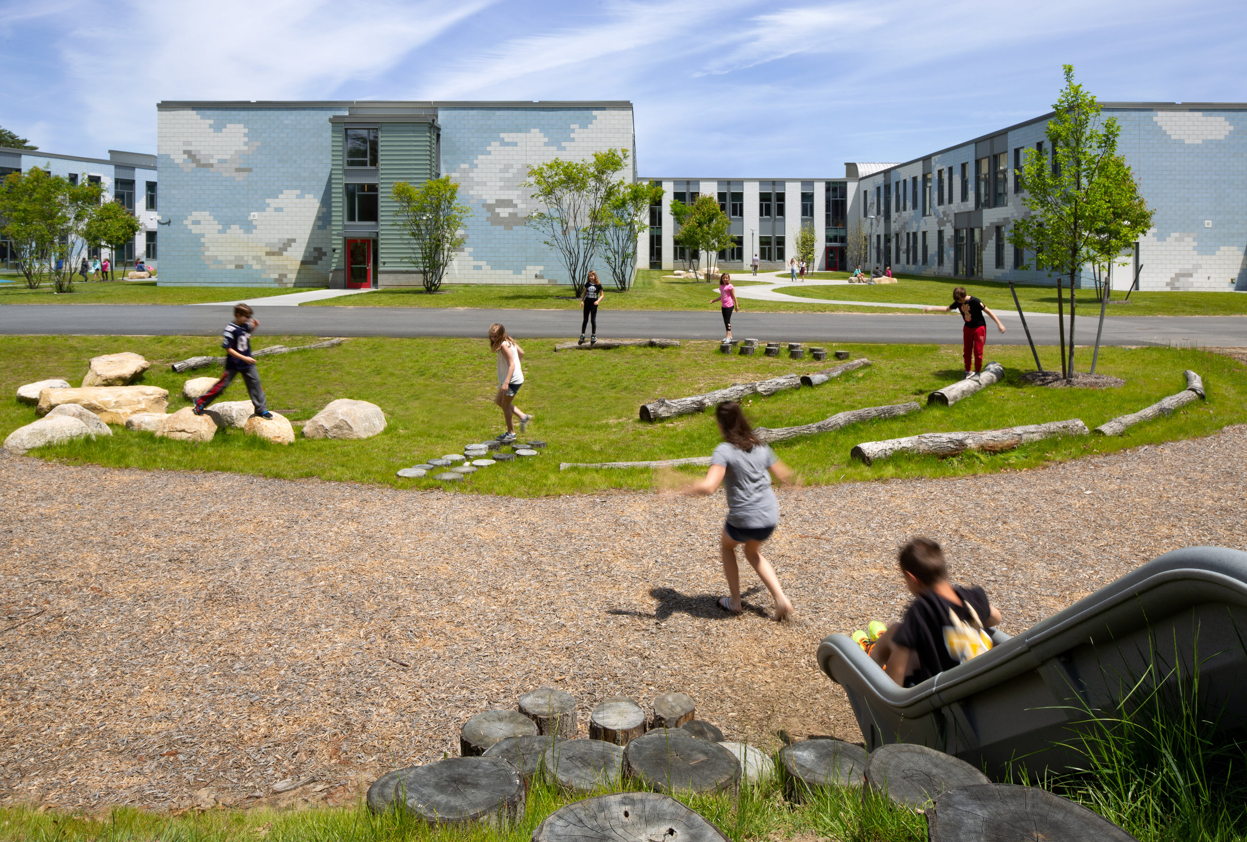 Nature Play Area at Carver Elementary School (Photo by Ed Wonsek)
