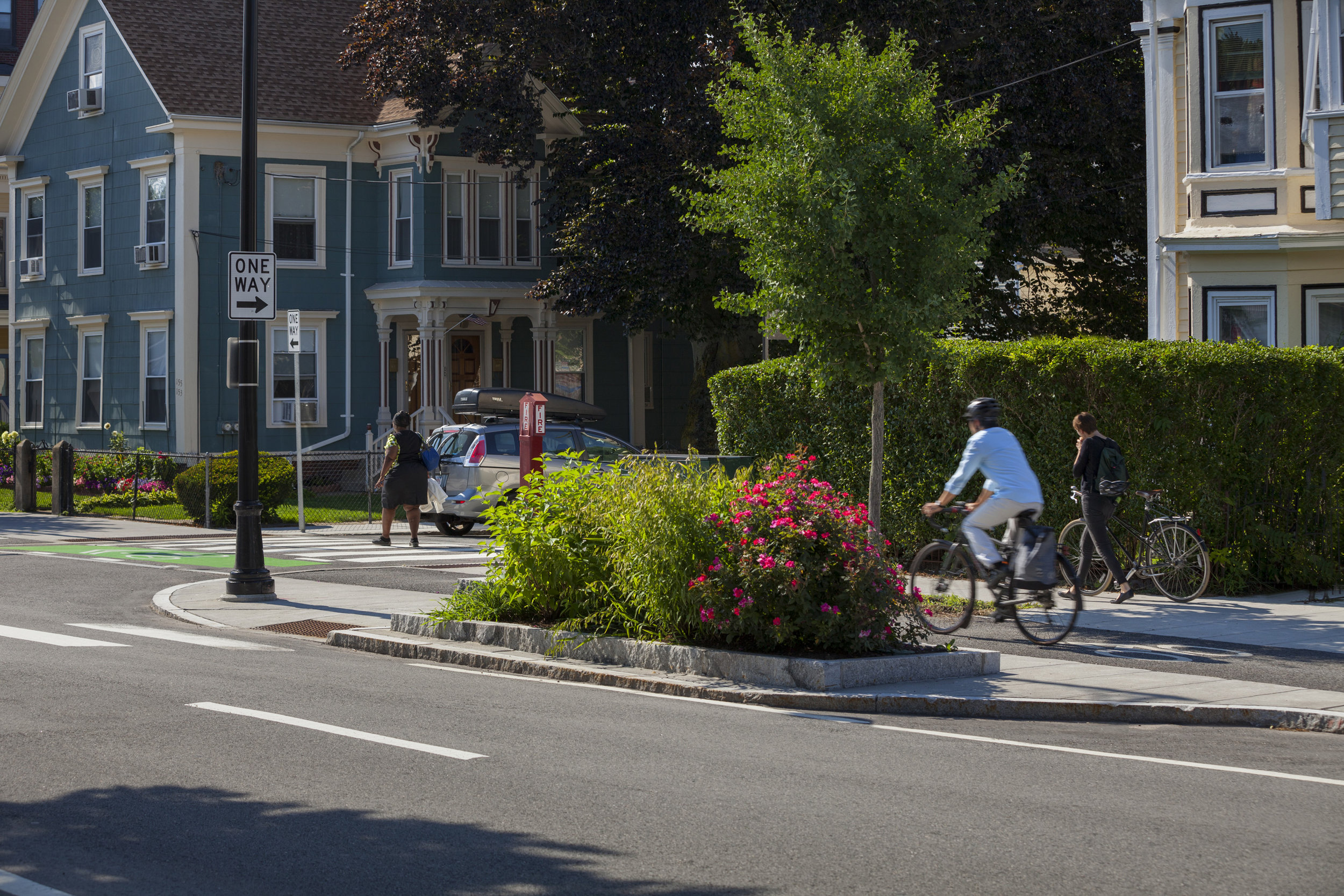 Western Avenue Complete Streets (Photo by Anthony Crisafulli Photography)