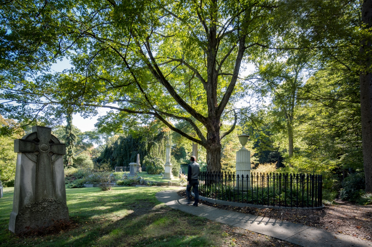 Mount Auburn Cemetery (Photo by Ed Wonsek)