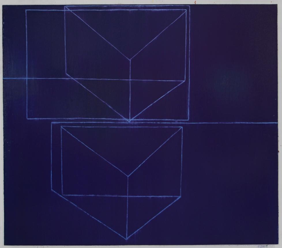 Das Inner Dasein, 2009 (Oil on lin.,65x74in)