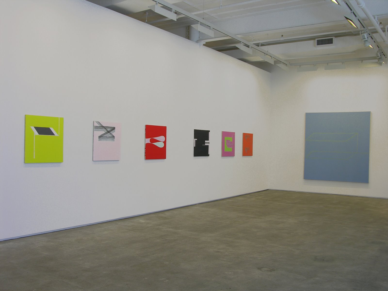 Moti Hasson Gallery, NY: Solo show, 2007