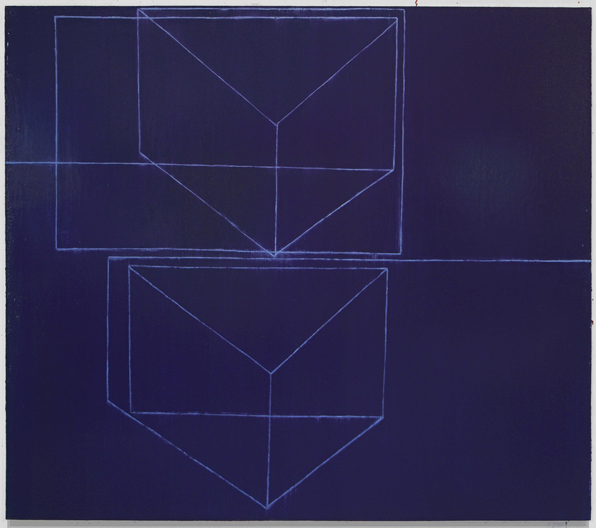 Das Inner Dasein   ,  2008-09 (Oil on linen, 65 x 74 in / 165 x 188 cm)