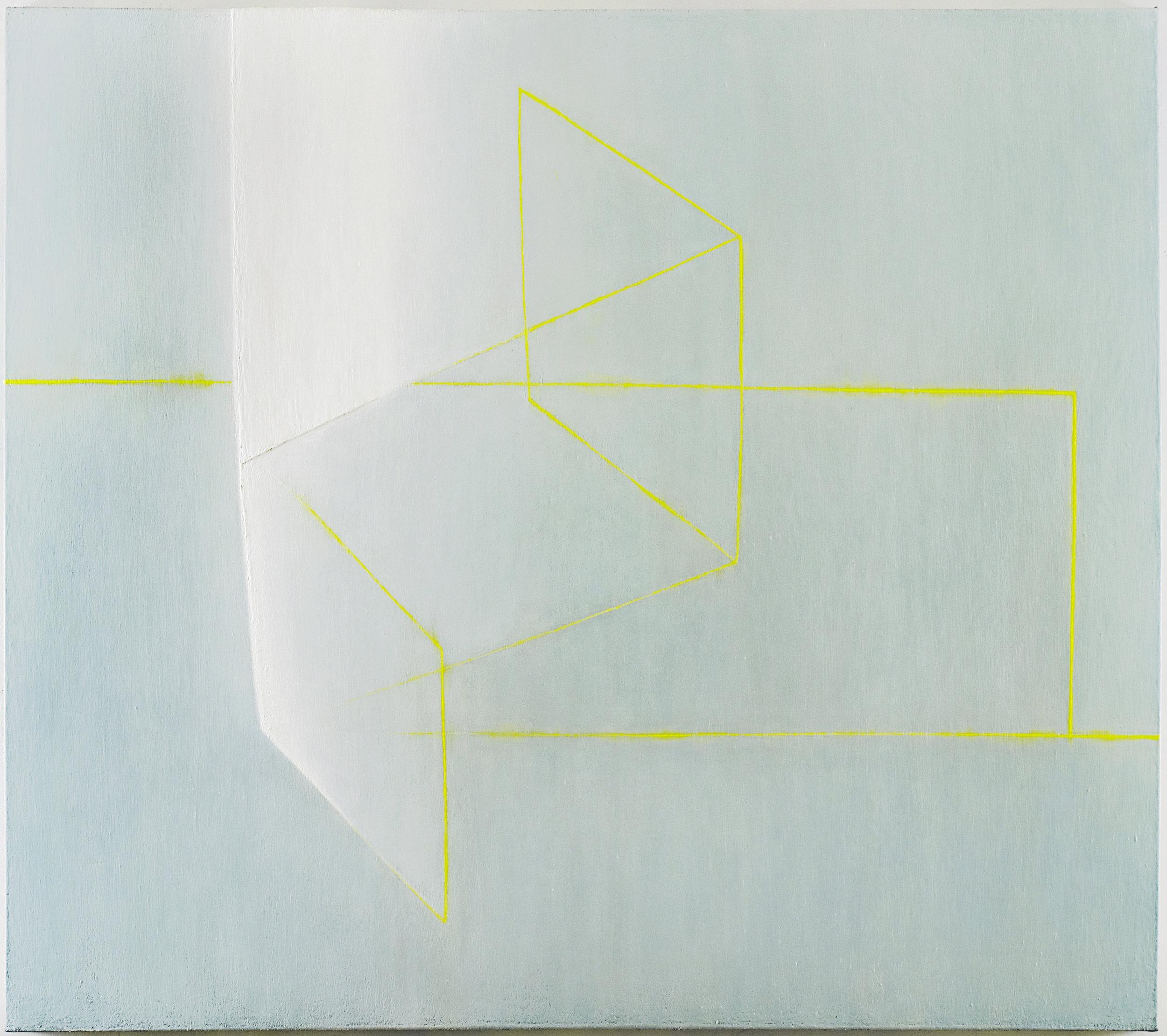 White Light   ,  2003-04 (Oil on linen, 65 x 74 in / 165 x 188 cm)