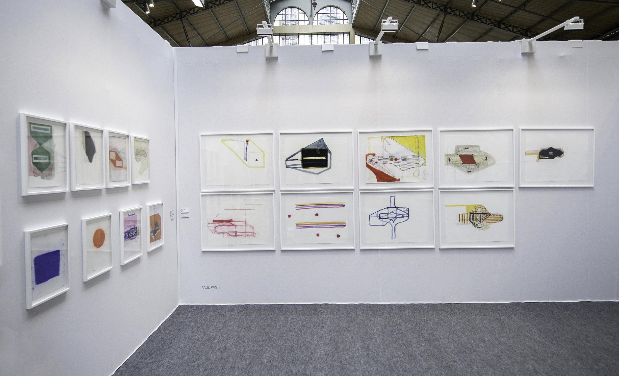 Drawing Now, Galerie Eric Dupont, Paris, 2017