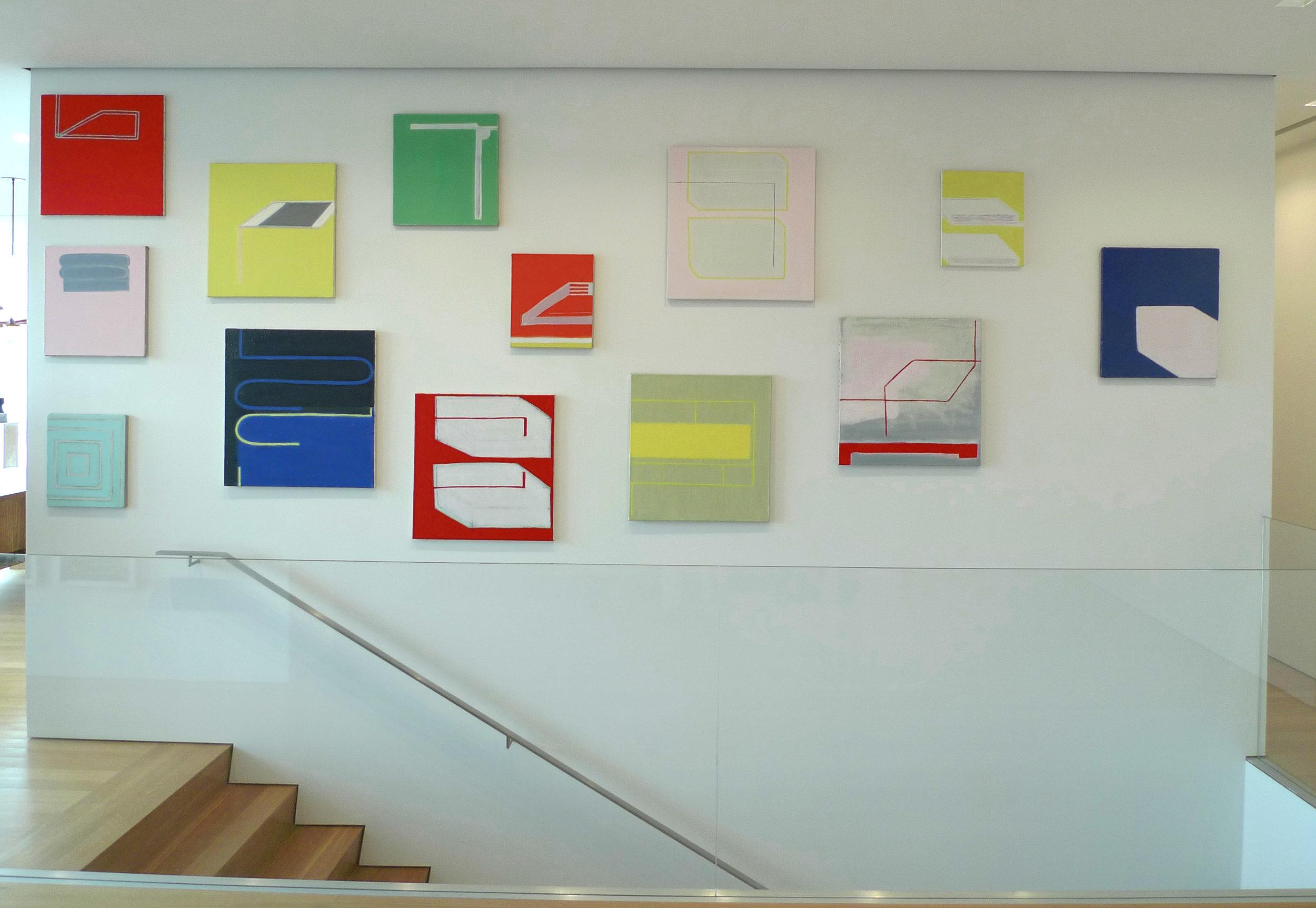 Flag Art Foundation, NY, 2009