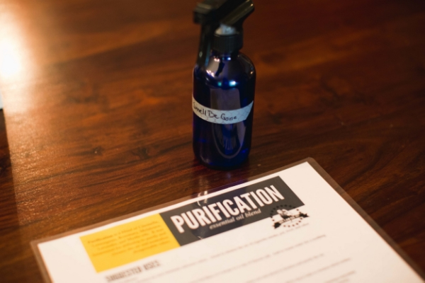 Smell be gone Purification recipe