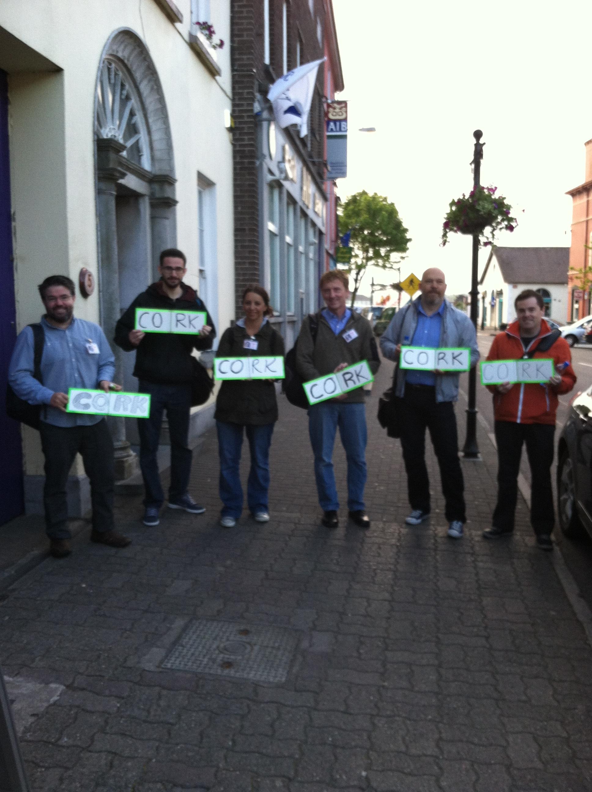 Team Carma testing in Kinsale