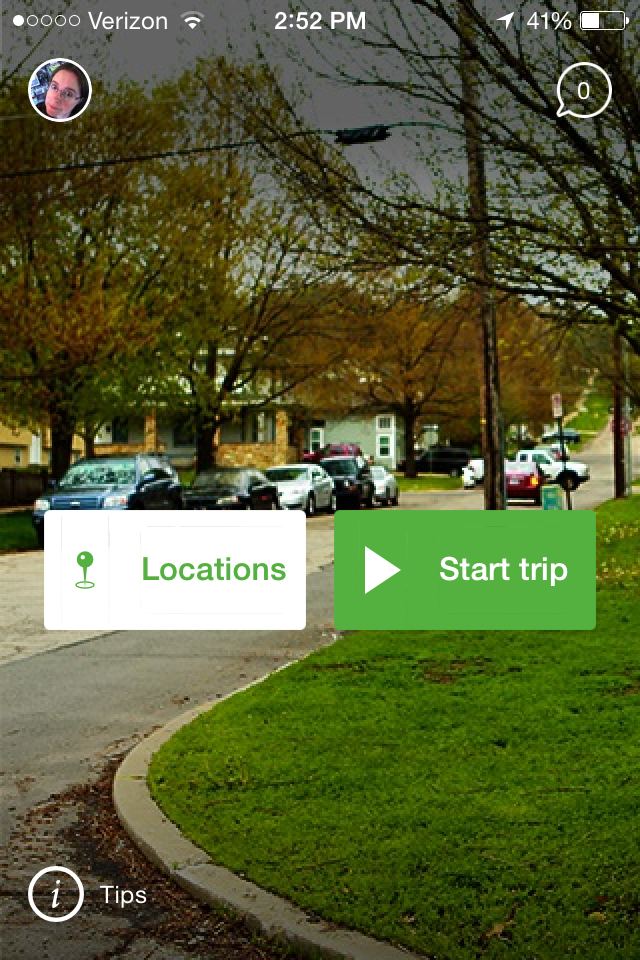 The CarmaHop app