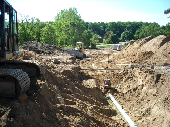 Dean's Excavating & Landscaping at Forest Hills Public Schools