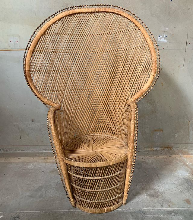 Peacock Chair (Michelle) Available 1 #chairspandp #loungepandp