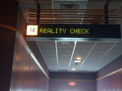 Outside Island 16 Movie Theater on Long Island at Reality Check L.I event