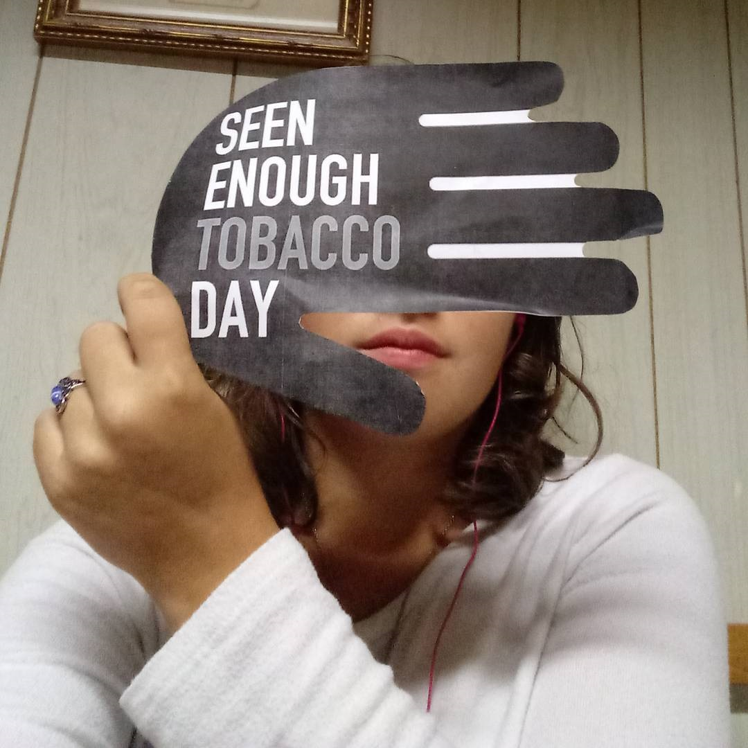 Filmore and Olean RC - Reality Check you from both Olean and Filmore took to social media on #seenenoughtobaccoday to bring awareness to the issues of tobacco marketing and youth initiation.